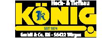 König GmbH & Co. KG – Wirges – Hoch- und Tiefbau Logo
